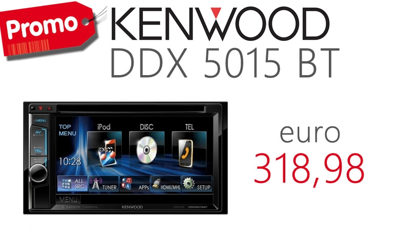 KENWOOD DDX 5015 BT